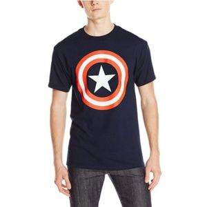 Marvel Captain America Men's 80's Captain America